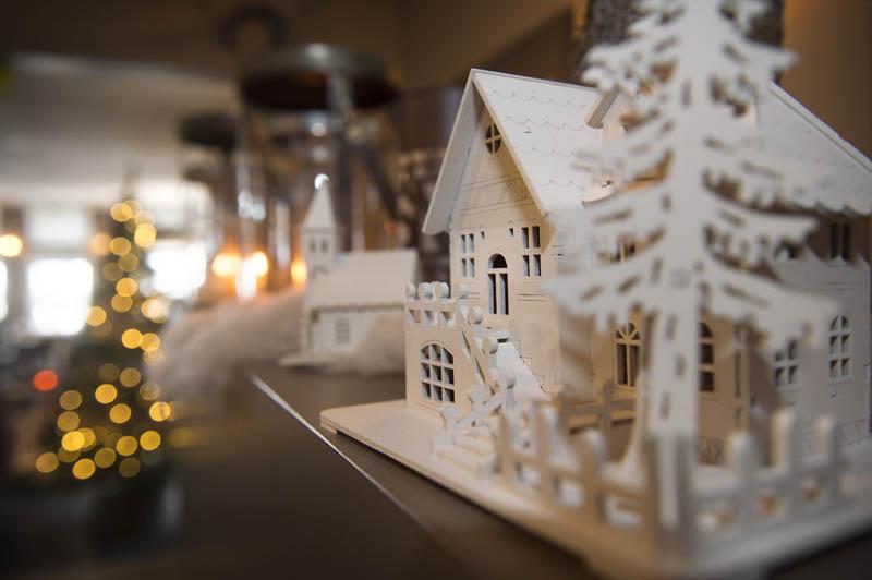 Hotel Bergrust in de sneeuw