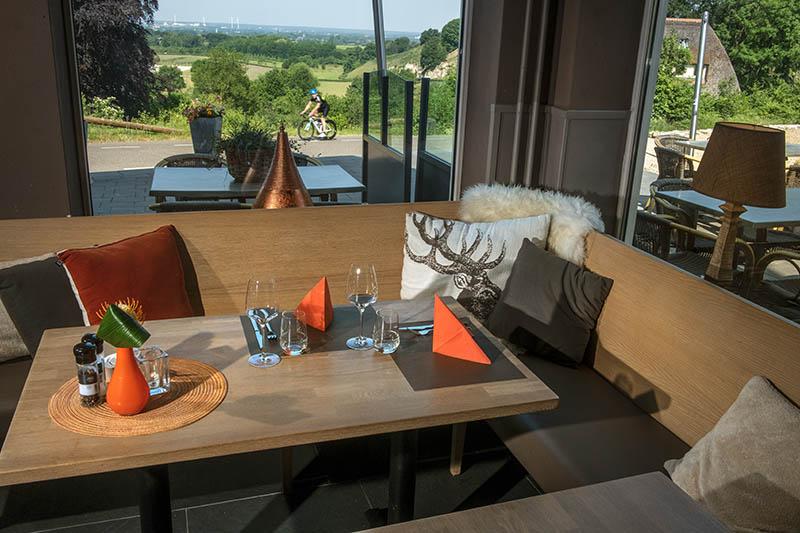 Hotel Bergrust - Bemelen - Wielrenner - Restaurant - Brasserie